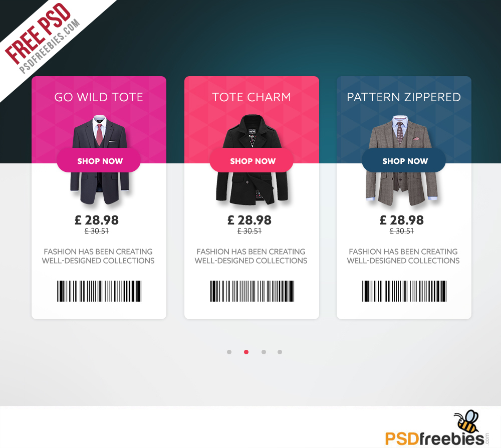 Freebie : Ecommerce Product View Card Free UI Free PSD