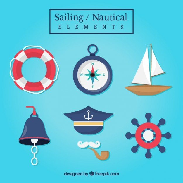 Collection of sailing accessories
