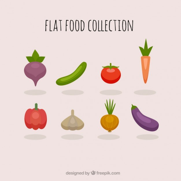 Healthy vegetables collection