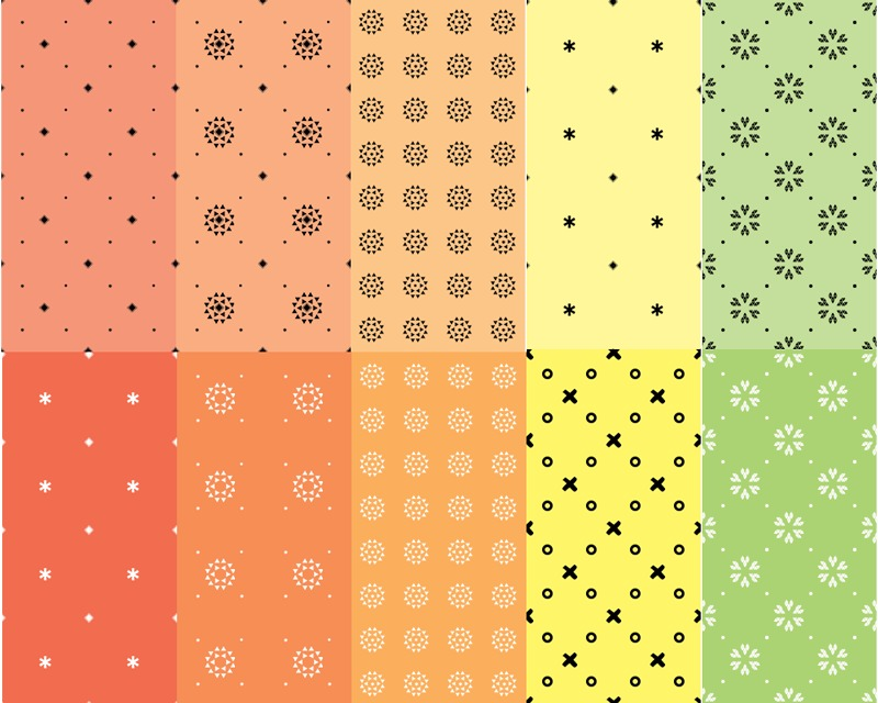 Seamless Photoshop Patterns (Transparent)