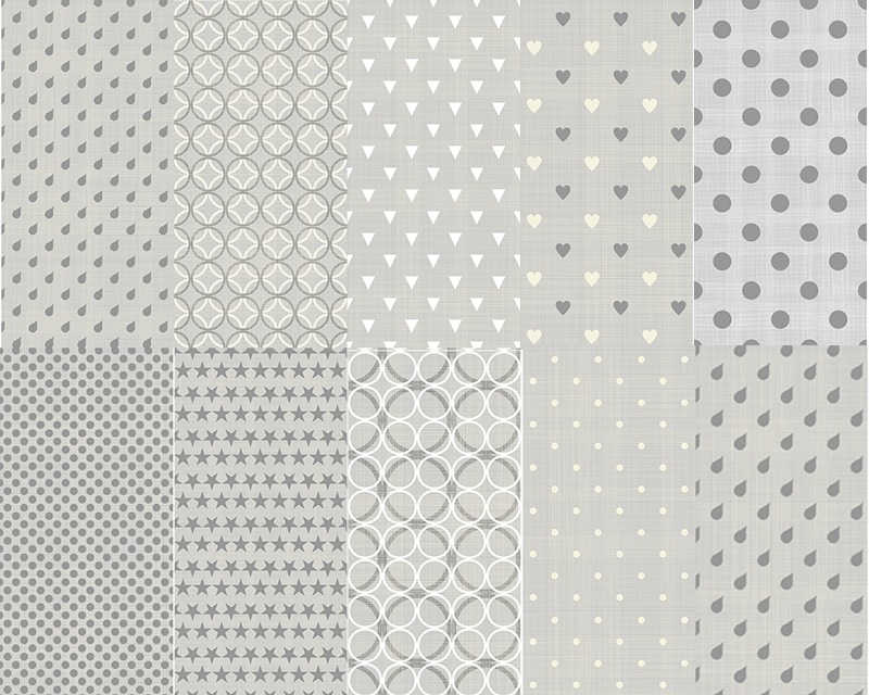 Seamless Photoshop Patterns - grey textured pack