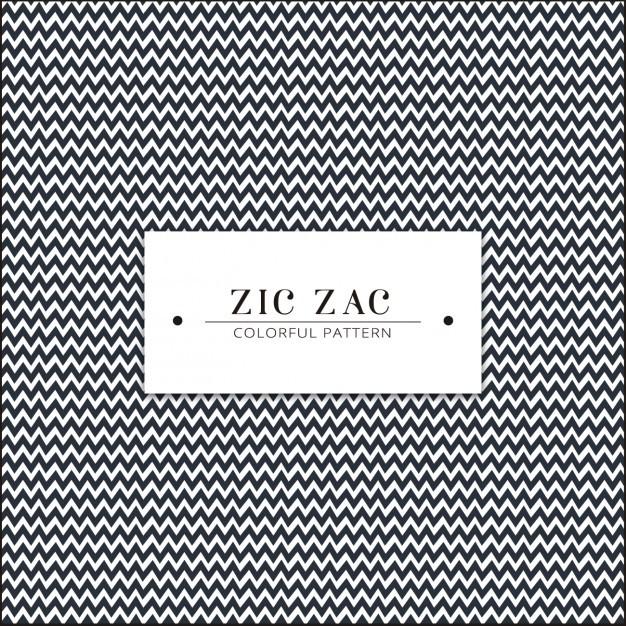 Zig zag pattern design