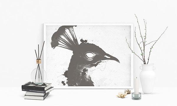 Poster MockUp Scene PSD