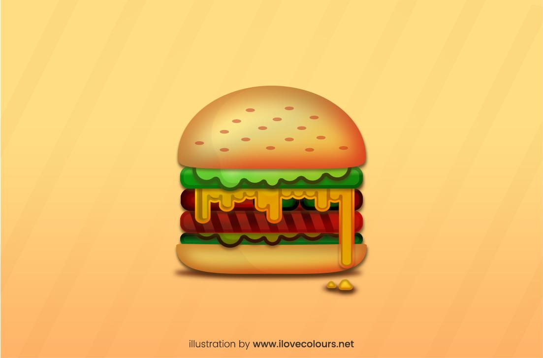 Burger - Free vector illustration