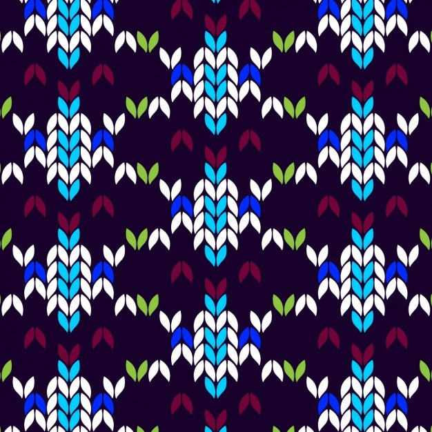 Abstract coloured pattern