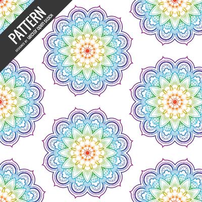 Rainbow pattern backdrop