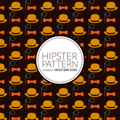 Hipster elements pattern