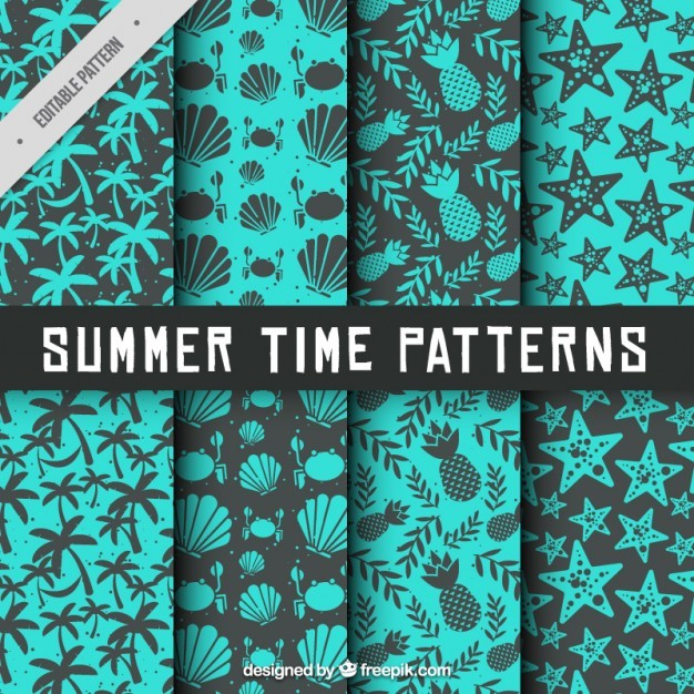 Summertime pattern collection