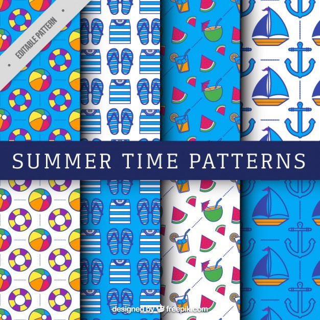 Patterns of summer elements