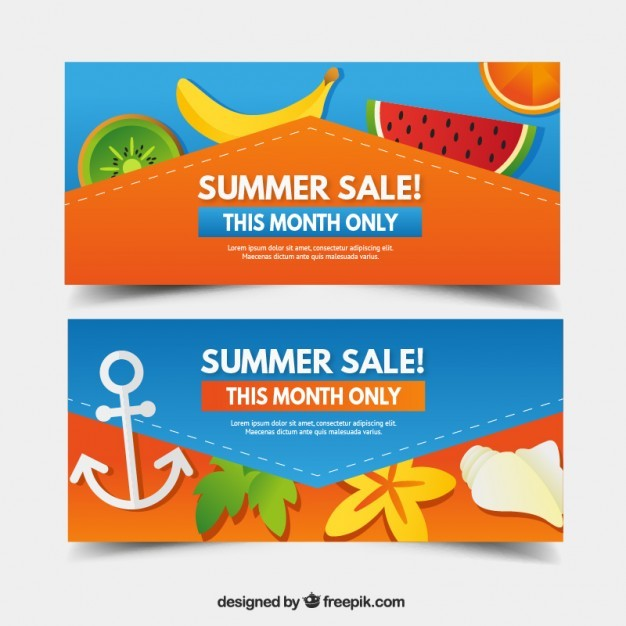 Monthly summer sale offer