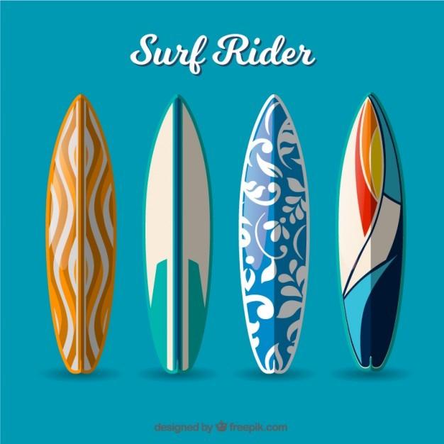 Modern surf rider