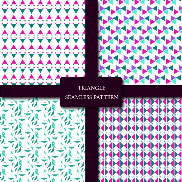 Coloured patterns collection