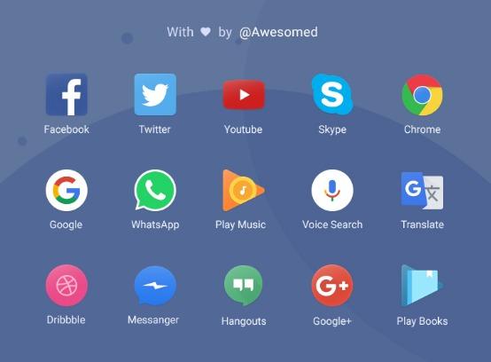 Free App Icons set