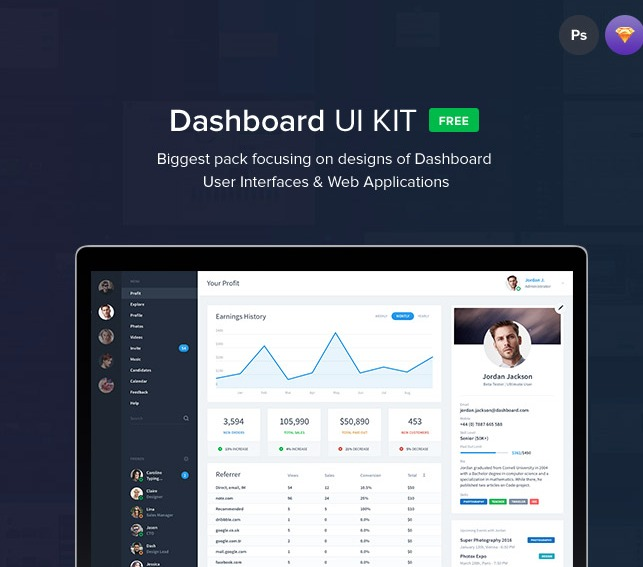Dashboard UI Templates