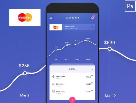 Concept for Bank Statistic App