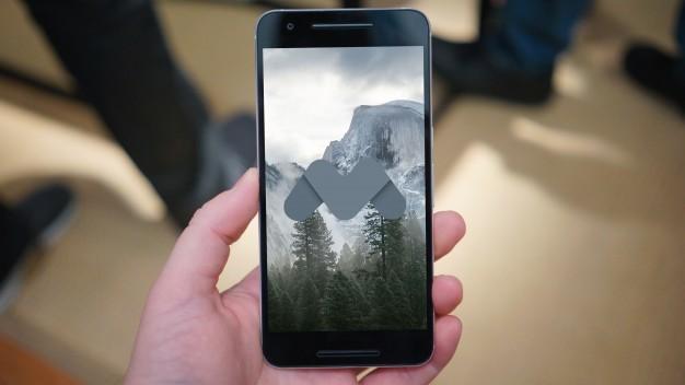 Black mobile phone mock up
