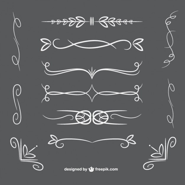 Ornamental dividers