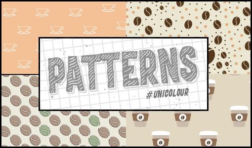 Coffee Patterns /@unicolour/