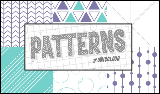 AquaPurple Patterns /@unicolour/