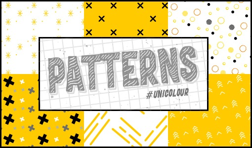 Yellow Patterns /@unicolour/