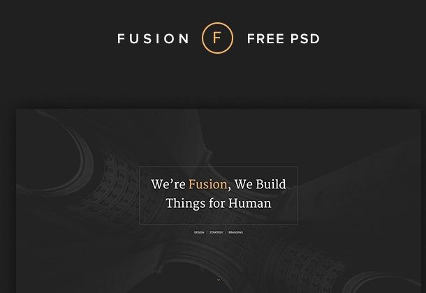 Fusion Portfolio Template