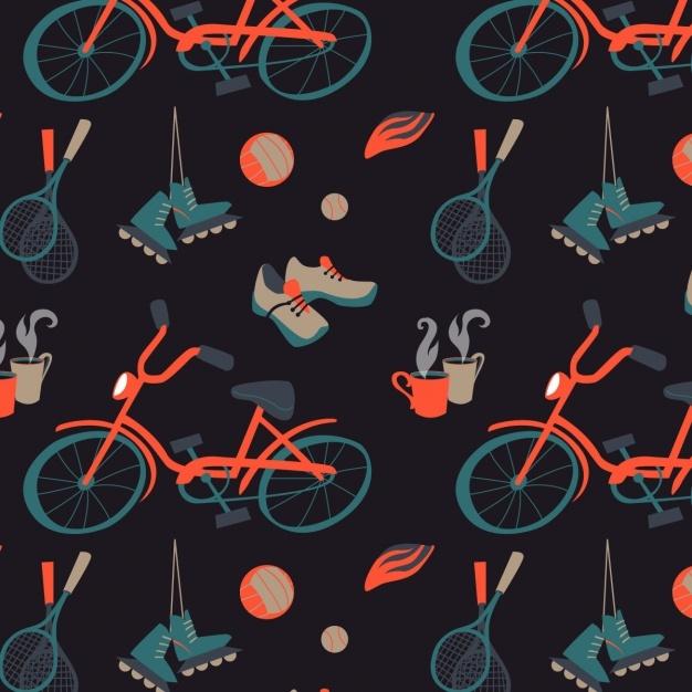 Sports pattern design