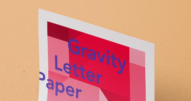 Gravity Psd Paper Mockup Vol3