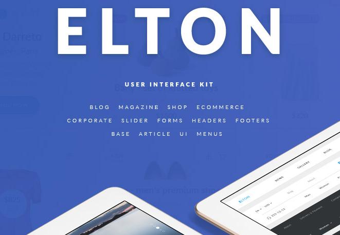 Elton UI Kit