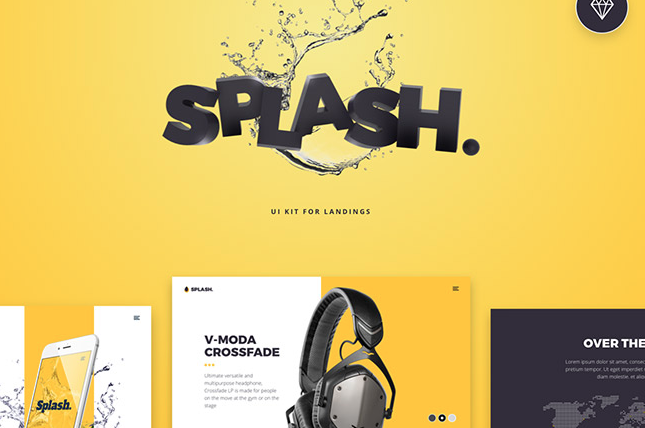 20 Splash UI Kit Screens