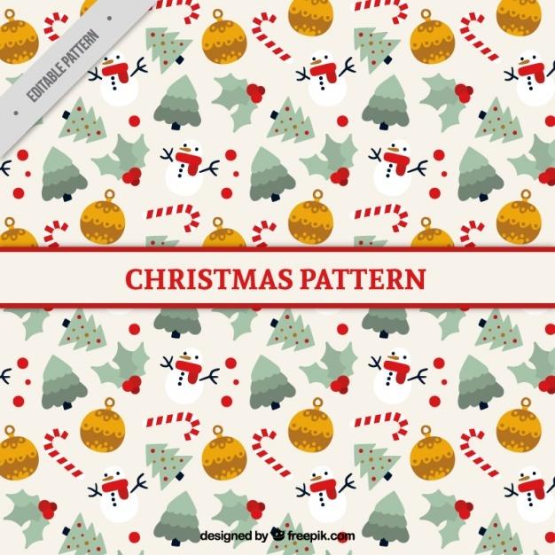 Nice christmas pattern