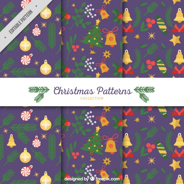 Christmas ornaments patterns