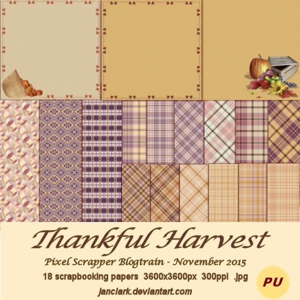 Thankful Harvest - PS1511bt - JanClark