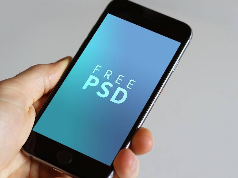iPhone 6-6s PSD