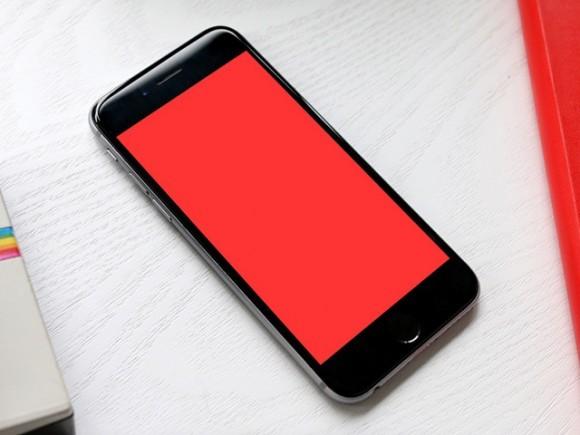 6 iPhone 6 PSD mockups