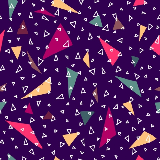 Triangular shapes pattern design