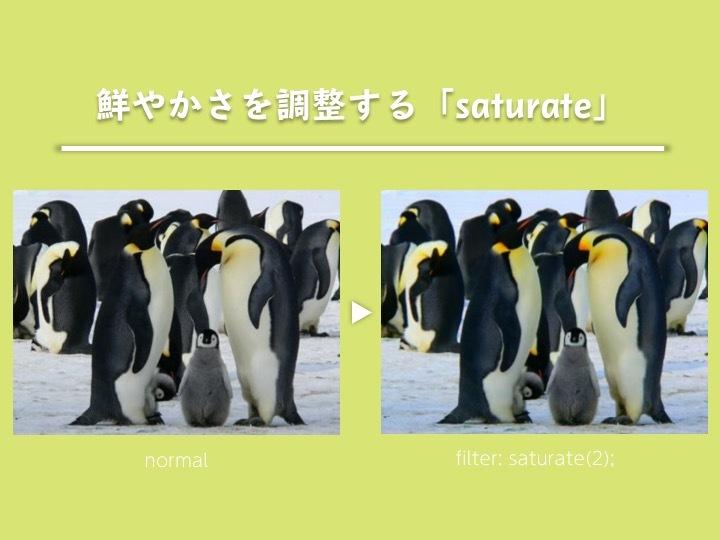 saturate