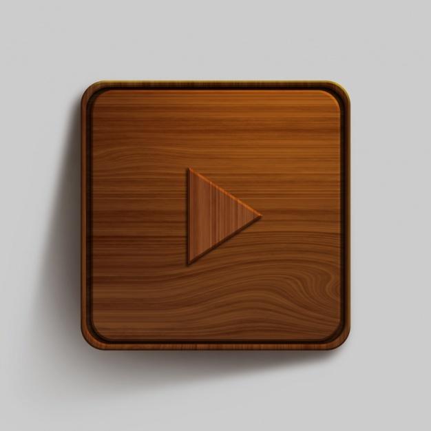 Wooden button design