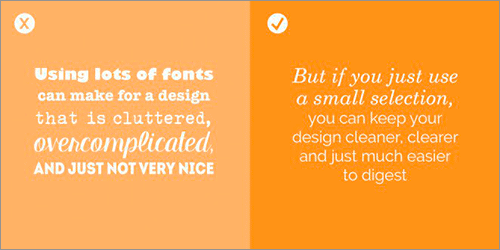 デザインに合うフォントを選ぶ