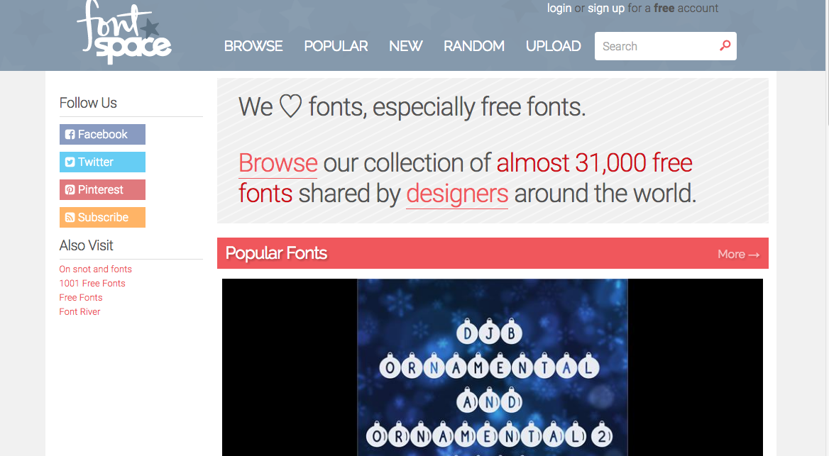 fontspace