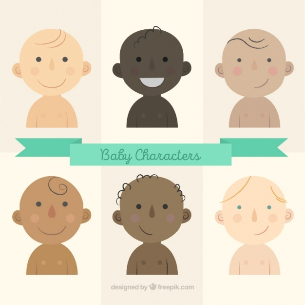 Baby character collection