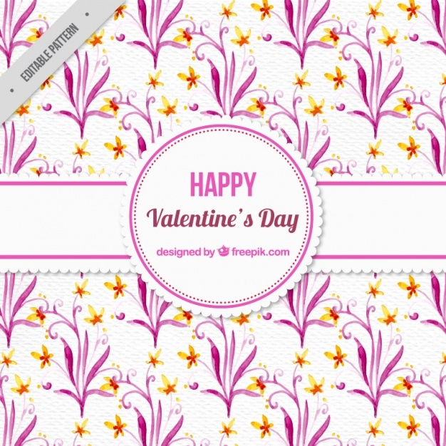 Pink valentines day pattern