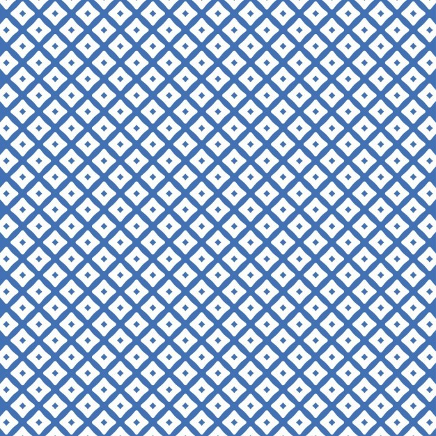 Pattern with dots and squares