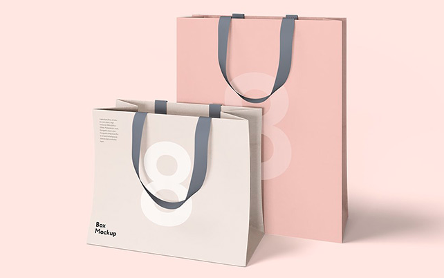 Luxury Box & Bag Mockups