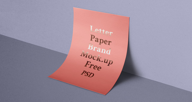 Psd A4 Paper Mockup