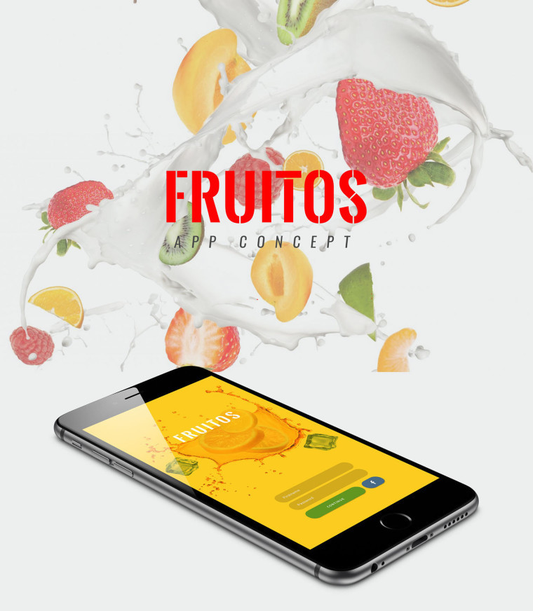 FRUITOS CREATIVE APP TEMPLATE