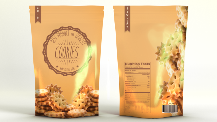 SNACKS BAG FREE MOCKUP