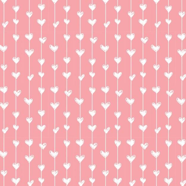 Pink love pattern