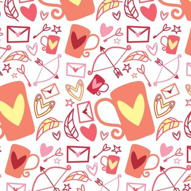 Funny valentine pattern