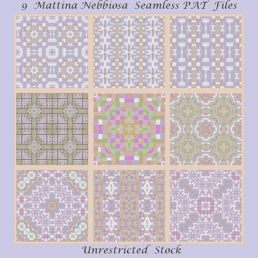 9 Mattina Nebbiosa Seamless PAT Files