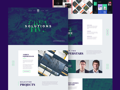 Agency Landing Page [PSD]
